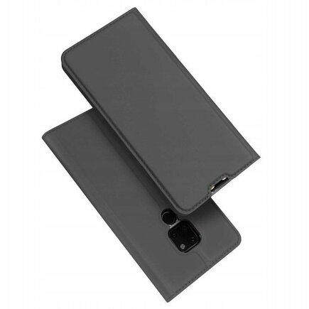 Skin Pro pouzdro s klapkou Huawei Mate 20 šedé