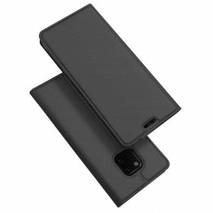 Skin Pro pouzdro s klapkou Huawei Mate 20 Pro šedé