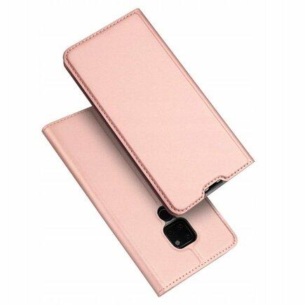 Skin Pro pouzdro s klapkou Huawei Mate 20 růžové