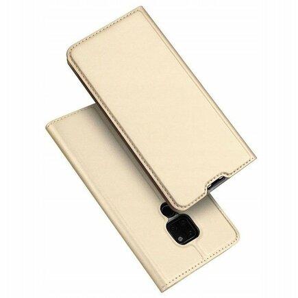 Skin Pro pouzdro s klapkou Huawei Mate 20 zlaté