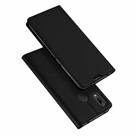 Skin Pro pouzdro s klapkou Huawei Y7 2019 / Y7 Prime 2019 černé