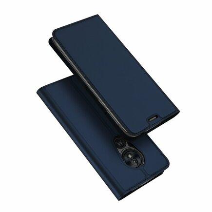 Skin Pro pouzdro s klapkou Motorola Moto G7 Play modré