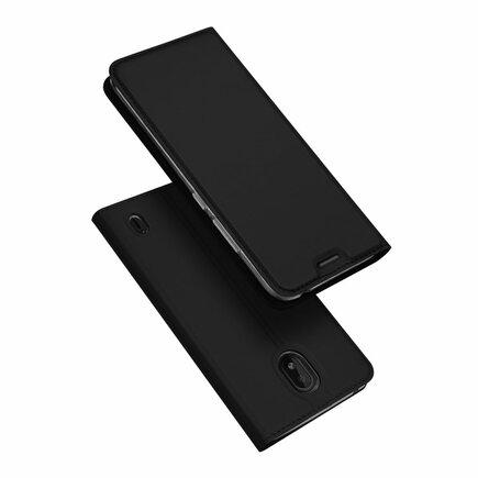 Skin Pro pouzdro s klapkou Nokia 1 Plus černé