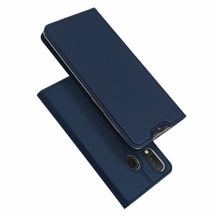 Skin Pro pouzdro s klapkou Samsung Galaxy A40 modré