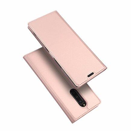 Skin Pro pouzdro s klapkou Sony Xperia 1 růžové