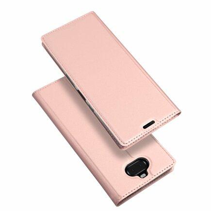 Skin Pro pouzdro s klapkou Sony Xperia 10 Plus růžové