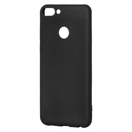 Soft Matt gelové pouzdro Huawei P Smart černé