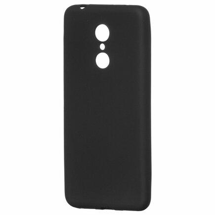 Soft Matt gelové pouzdro Xiaomi Redmi 5 černé