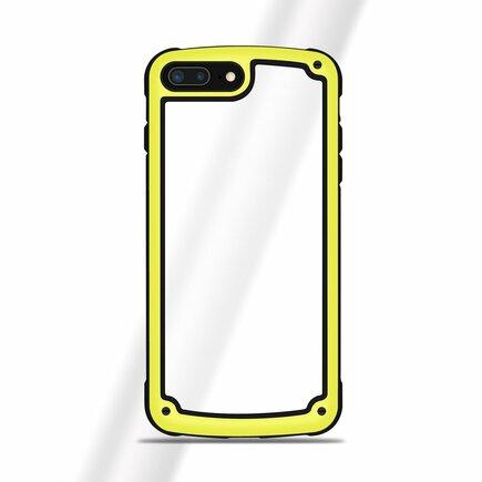 Solid Frame odolné pouzdro s gelovým rámem Huawei Mate 20 Lite žluté