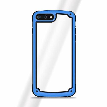 Solid Frame odolné pouzdro s gelovým rámem Huawei P20 Pro modré