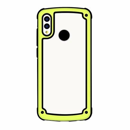 Solid Frame odolné pouzdro s gelovým rámem Samsung Galaxy S9 Plus G965 žluté