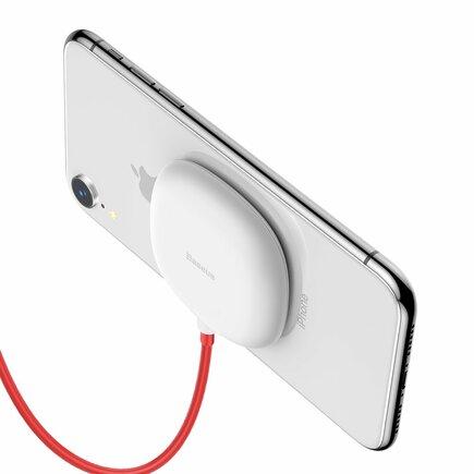 Suction Cup Wireless Charger bezdrátová nabíječka Qi s přísavkou (WXXP-02) bílá