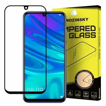 Super odolné tvrzené sklo Full Glue na celý displej s rámem Case Friendly Huawei P Smart Plus 2019 černé