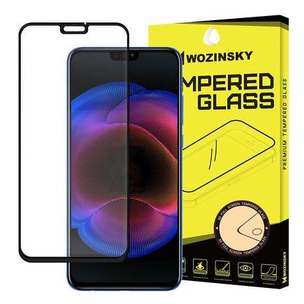 Super odolné tvrzené sklo Full Glue přes celý displej s rámem Case Friendly Huawei Honor 8X černé