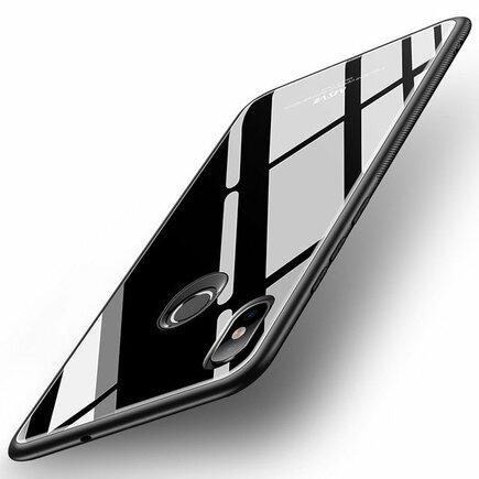 Tempered Glass Case pouzdro z tvrzeného skla Xiaomi Mi 8 SE černé