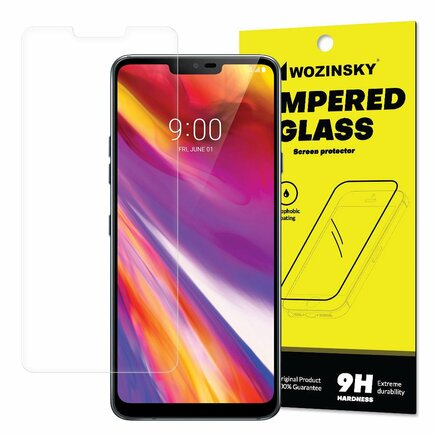 Tempered Glass tvrzené sklo 9H LG G7 ThinQ (balení - obálka)