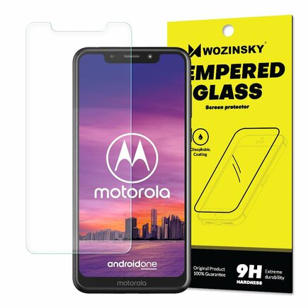 Tempered Glass tvrzené sklo 9H Motorola One (balení - obálka)