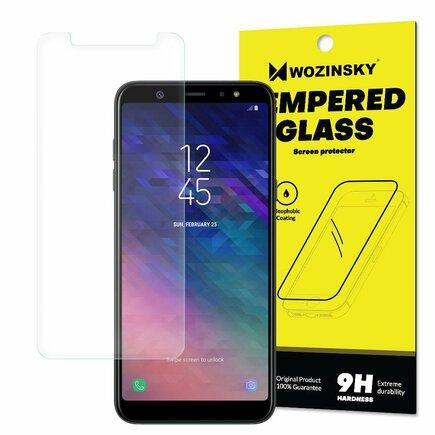 Tempered Glass tvrzené sklo 9H Samsung Galaxy A6 Plus 2018 A605 (balení - obálka)