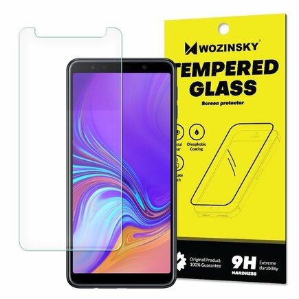 Tempered Glass tvrzené sklo 9H Samsung Galaxy A7 2018 A750 (balení - obálka)