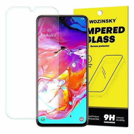 Tempered Glass tvrzené sklo 9H Samsung Galaxy A70 (balení-obálka)