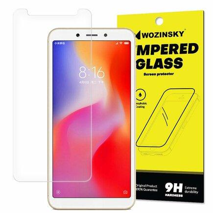 Tempered Glass tvrzené sklo 9H Xiaomi Redmi 6 (balení - obálka)
