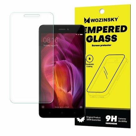 Tempered Glass tvrzené sklo 9H Xiaomi Redmi Note 4 (MediaTek) / Redmi Note 4X / 4 (Snapdragon global version) (balení-obálka)