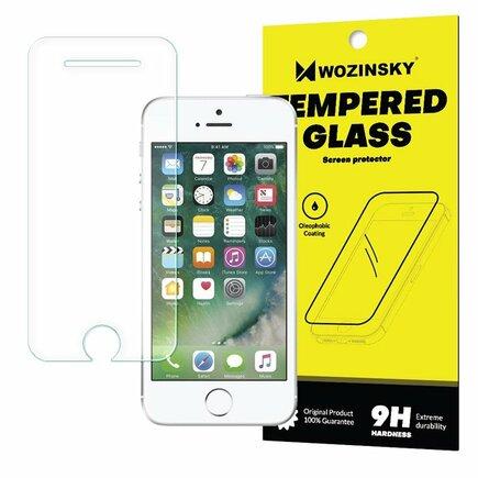 Tempered Glass tvrzené sklo 9H iPhone SE / 5S / 5 (balení-obálka)