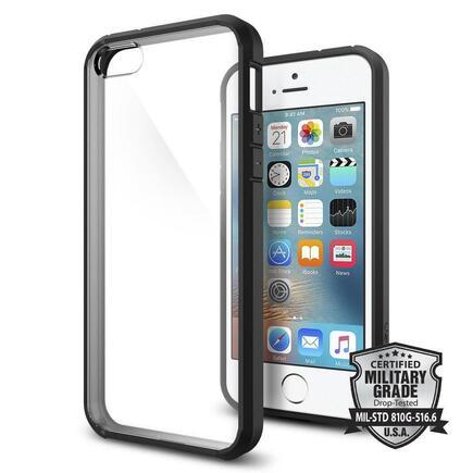 Ultra Hybrid pouzdro iPhone SE / 5S / 5 černé