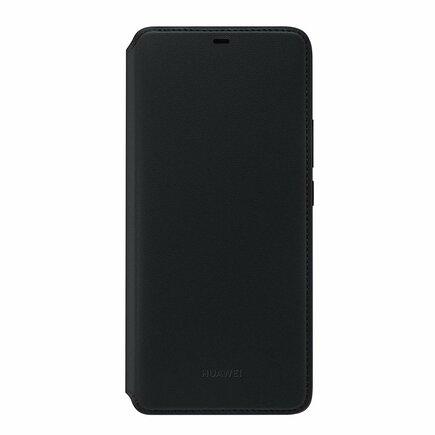 Wallet Cover pouzdro bookcase s kapsou na kartu Huawei Mate 20 Pro černé (51992636)