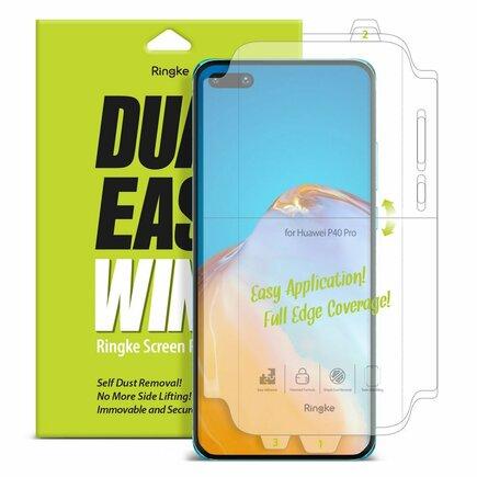 Dual Easy Wing 2x ochranná fólie na displej a boky telefonu Huawei P40 Pro (DWHW0003)