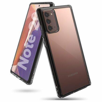 Fusion pouzdro s gelovým rámem Samsung Galaxy Note 20 černé (FSSG0081)