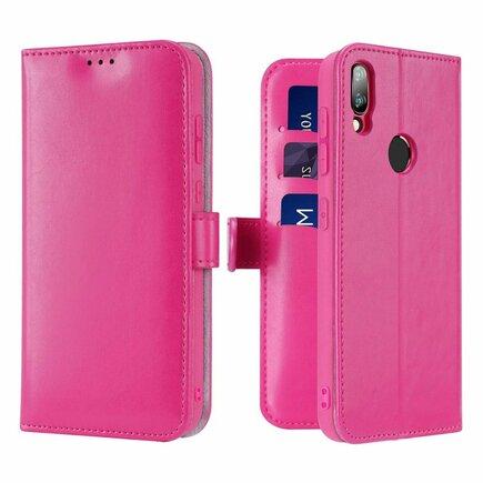 Kado pouzdro s klapkou Xiaomi Redmi Note 7 růžové