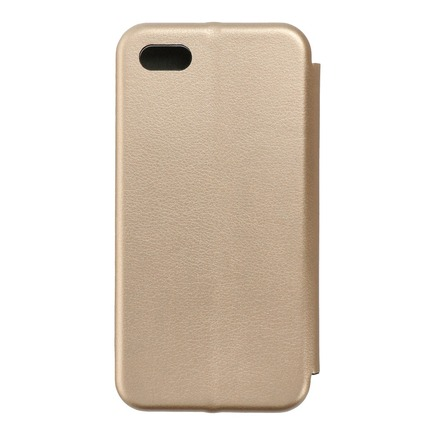 Pouzdro Book Elegance iPhone 5 / 5S / SE zlaté