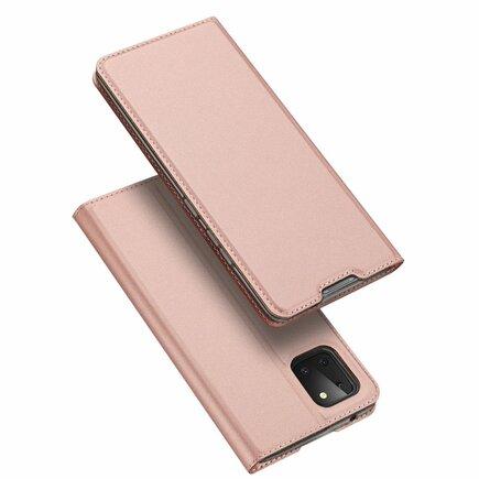 Skin Pro pouzdro s klapkou Samsung Galaxy Note 10 Lite růžové
