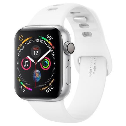 Řemínek Air Fit Band Apple Watch 1/2/3/4/5 (38/40MM) bílý