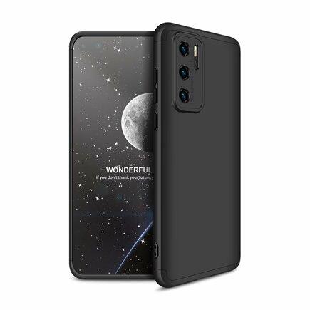 360 Protection Case pouzdro na přední i zadní část telefonu Huawei P40 černé