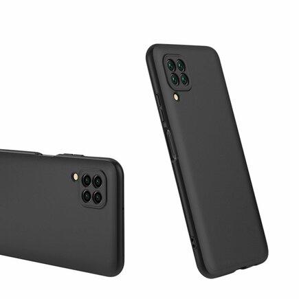 360 Protection Case pouzdro na přední i zadní část telefonu Huawei P40 Lite / Nova 7i / Nova 6 SE černé