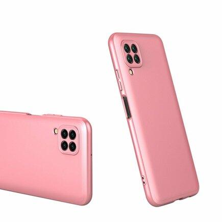 360 Protection Case pouzdro na přední i zadní část telefonu Huawei P40 Lite / Nova 7i / Nova 6 SE růžové