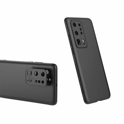 360 Protection Case pouzdro na přední i zadní část telefonu Huawei P40 Pro černé