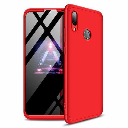 360 Protection Case pouzdro na přední i zadní část telefonu Huawei Y7 2019 / Y7 Prime 2019 červené