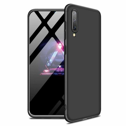 360 Protection Case pouzdro na přední i zadní část telefonu Samsung Galaxy A50 černé