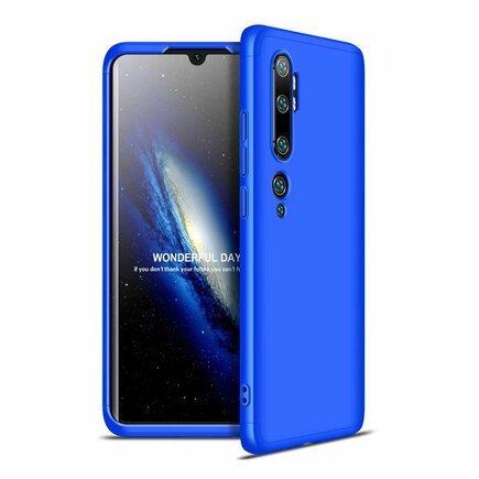 360 Protection Case pouzdro na přední i zadní část telefonu Xiaomi Mi Note 10 / Mi Note 10 Pro / Mi CC9 Pro modré