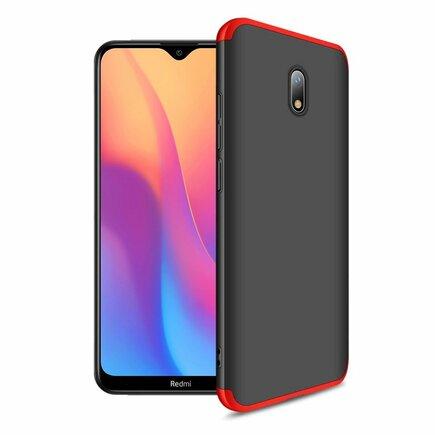 360 Protection Case pouzdro na přední i zadní část telefonu Xiaomi Redmi 8A černo/červené