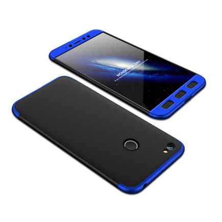 360 Protection Case pouzdro na přední i zadní část telefonu Xiaomi Redmi Note 5A Prime černo/modré