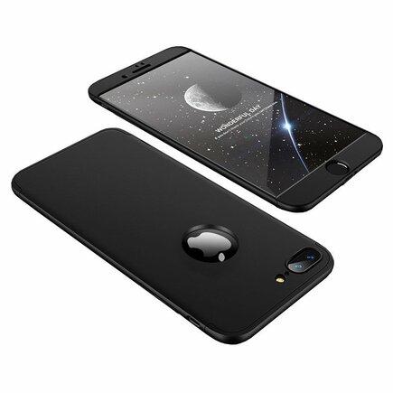 360 Protection Case pouzdro na přední i zadní část telefonu iPhone 8 Plus černé
