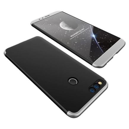 360 Protection pouzdro na přední i zadní část Huawei Honor 7X černo-stříbrné