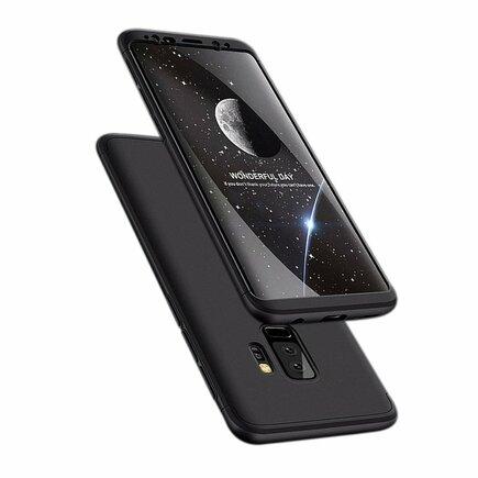 360 Protection pouzdro na přední i zadní část Samsung Galaxy S9 Plus G965 černé