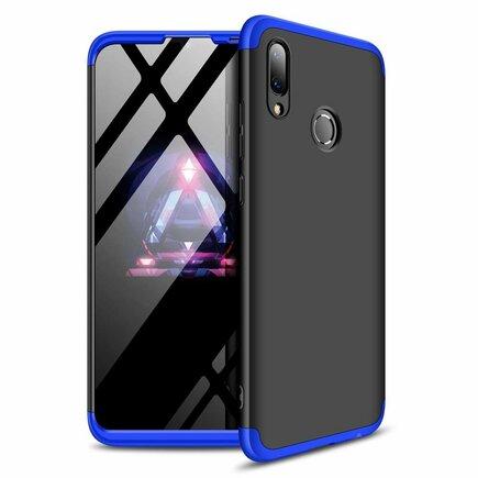 360 Protection pouzdro na přední i zadní část telefonu Huawei P Smart 2019 černo-modré