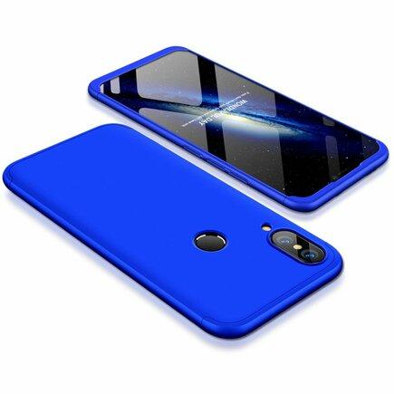 360 Protection pouzdro na přední i zadní část telefonu Huawei P20 Lite modré