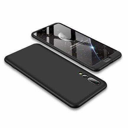 360 Protection pouzdro na přední i zadní část telefonu Huawei P20 Pro černé